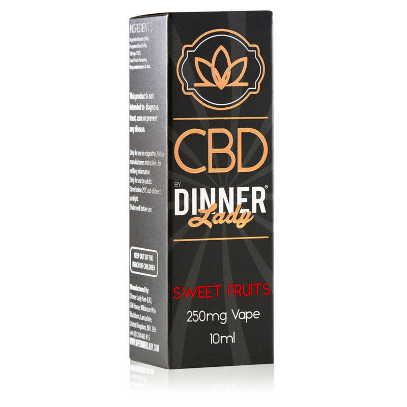 Sweet Fruits CBD E-Liquid by Dinner Lady 10ml 250mg