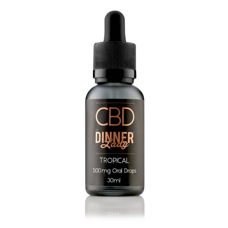Tropical CBD Oral Drops by Dinner Lady 30ml