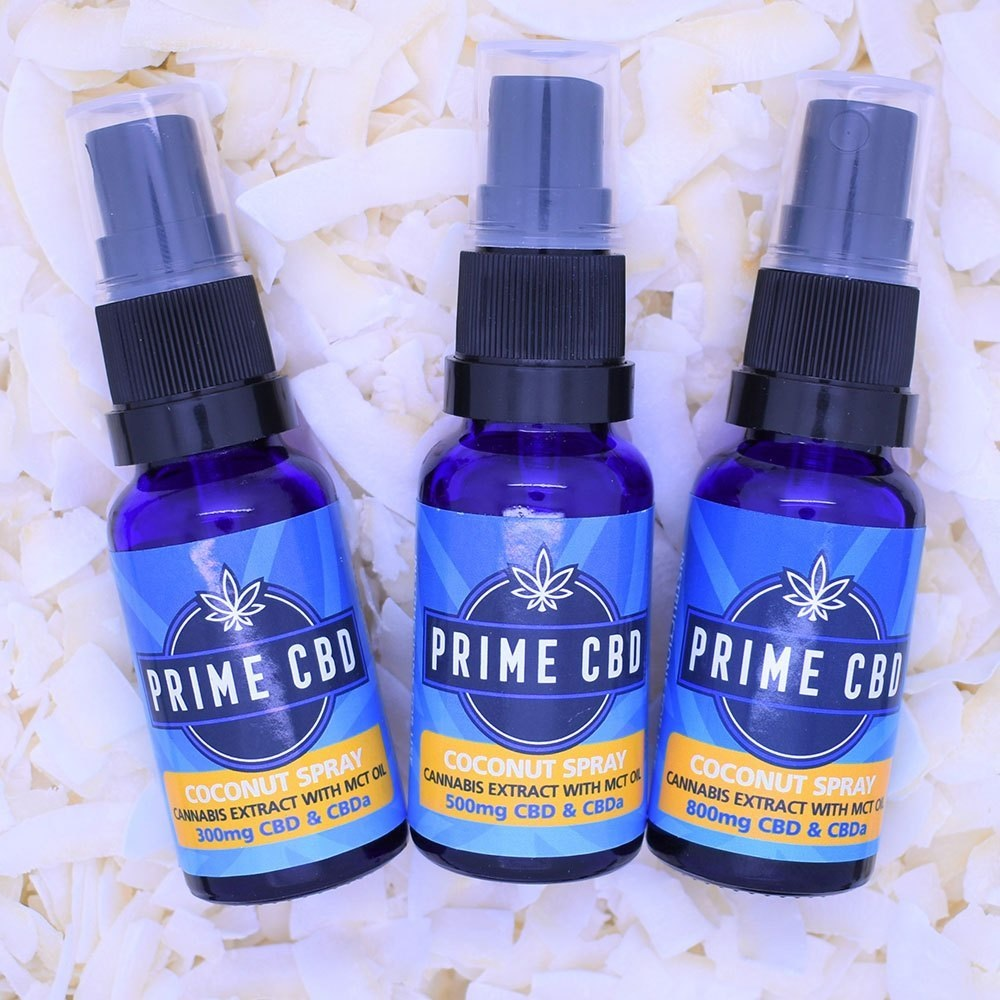 PrimeCBD Coconut CBD Spray