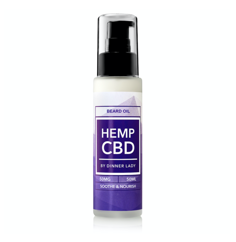 Dinner Lady CBD Beard Oil