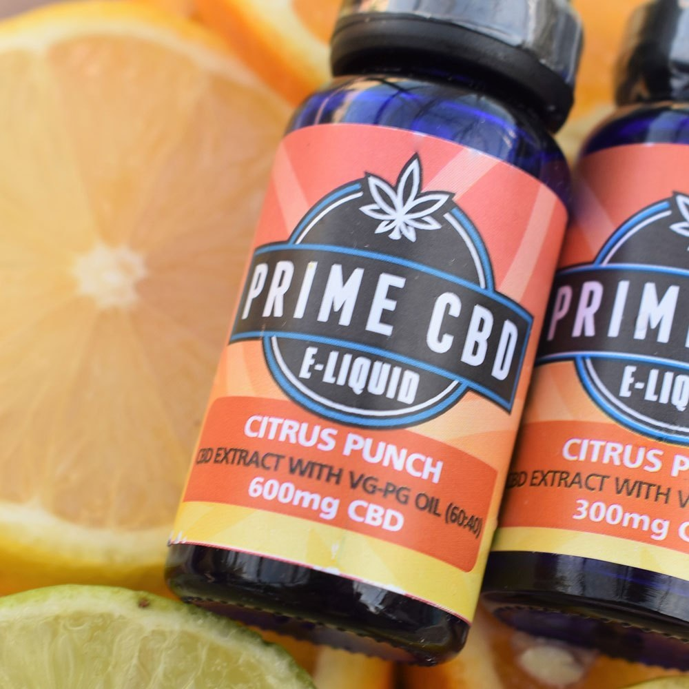 PrimeCBD E-Liquid Citrus Punch