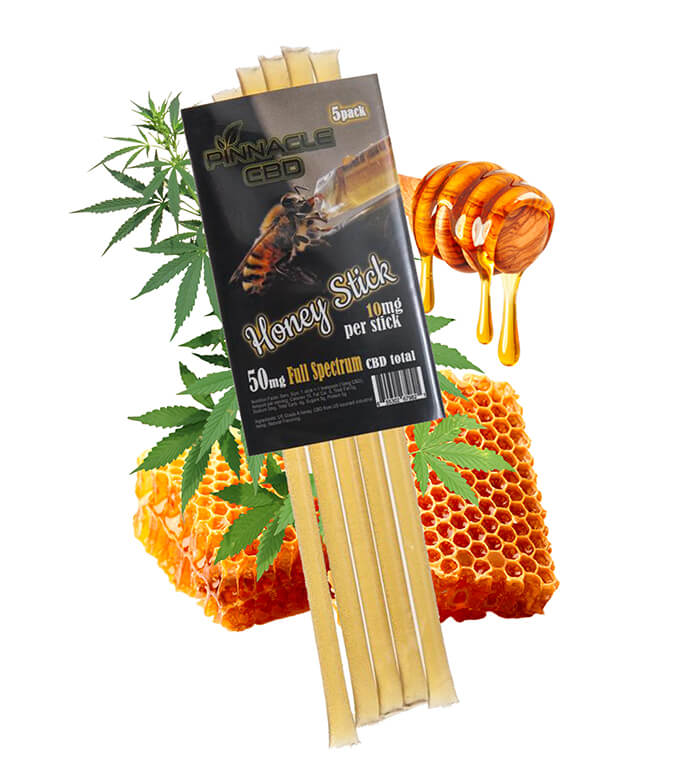 CBD Honey Sticks (PK of 5)