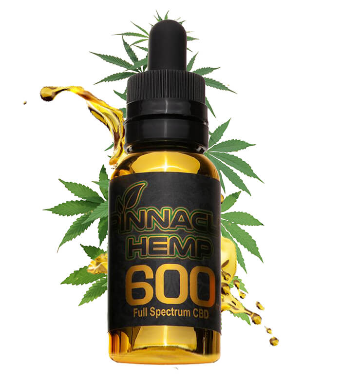 CBD Oil 600MG By Pinnacle