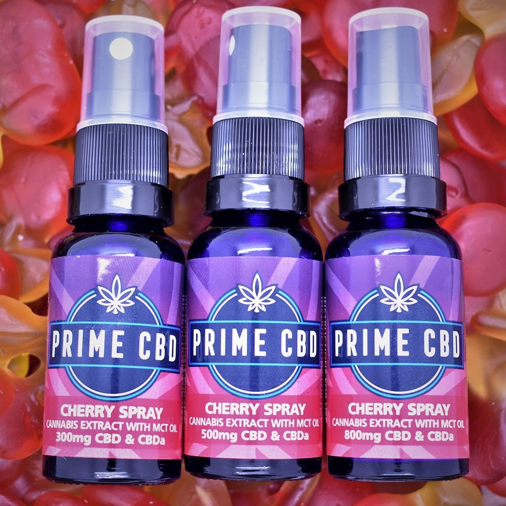 PrimeCBD Cherry CBD Spray